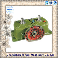 WPO Cast Iron small Worm Transmission Gearbox Parts with diesel engines for wind turbine generator