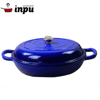 parini cookware home cooking enameled cast iron casserole