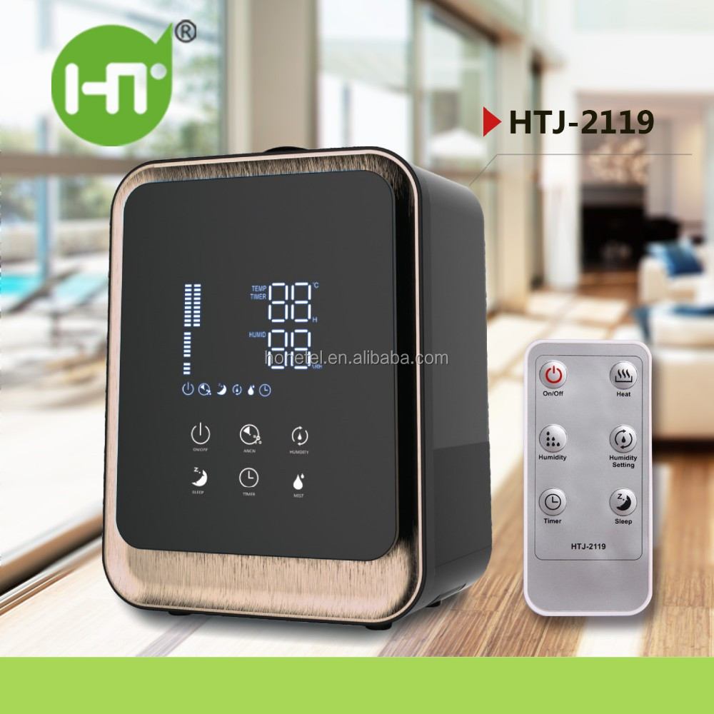 new product ideas 2018 Digital Warm and Cool Mist Hybrid air purifier timer touch screen control Ultrasonic Vaporizer Humidifier
