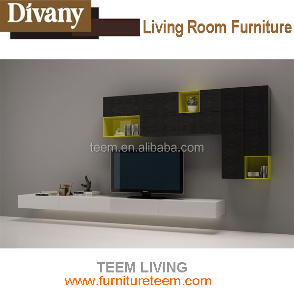 2015 living room furniture blue tv stand wooden tv stand