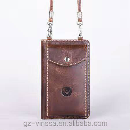 Leather Phone case and wallet small bag