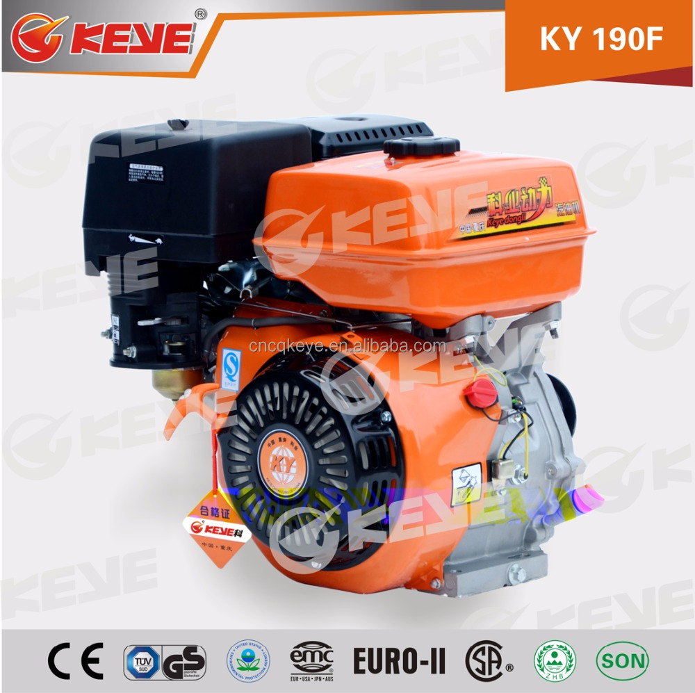 Best quality!Air cooled OHV single cylinder 13hp loncin engine with Recoil start and electric start