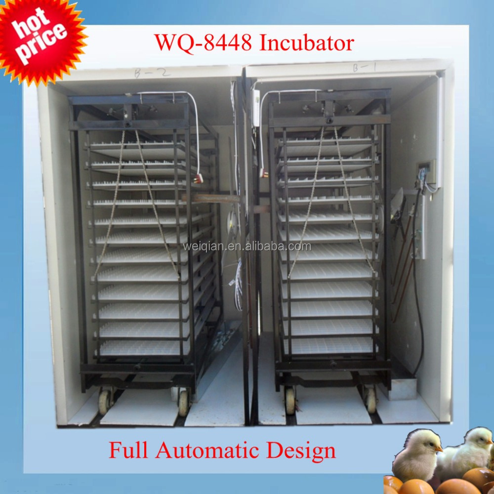 hot sale automatic egg incubator hatching(8448 eggs incubator)