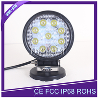 27w led head lights motorcycle driving lights 27W LED worklights