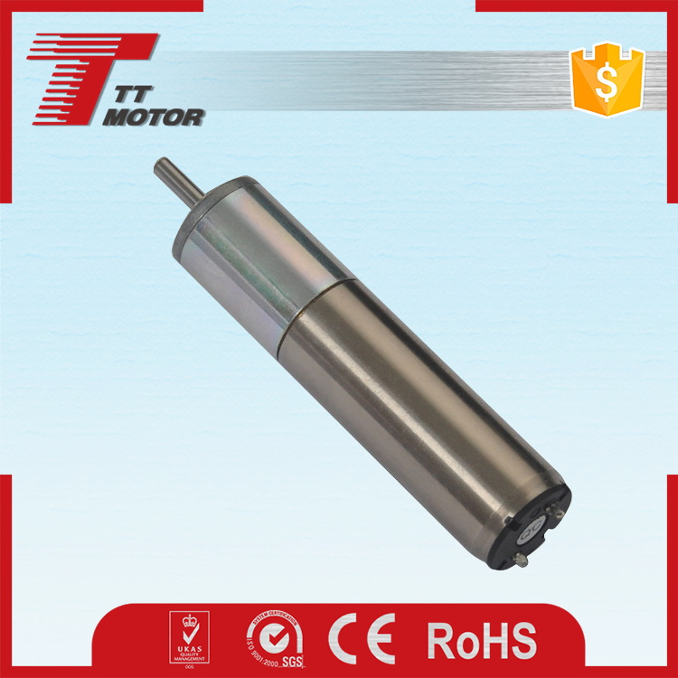 Coreless electric planetary gear strong magnetic dc motor
