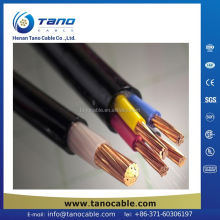 China supplier 8mm pvc lv power cable Bolivia Saudi Arabia