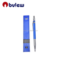Hot design stainless plastic mechanical pencil 2mm tool pencil