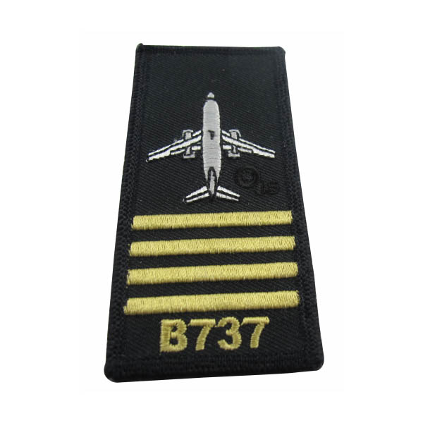wholesale custom embroidery pilot shoulder badges