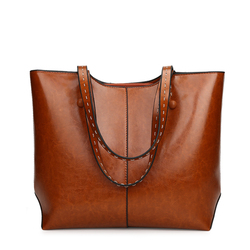 manufacturer women leather basket handbag ladies hang vintage bags made in thailand factories