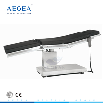 AG-OT019 OEM electric black hospital neurosurgery operating table supplier