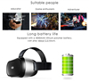 All In One HD 1920x1080P VR 3D Glasses LCD Display Screen 6 Axis For blue Sexy movies