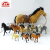 kids small toy plastic horses, lifelike toy horses