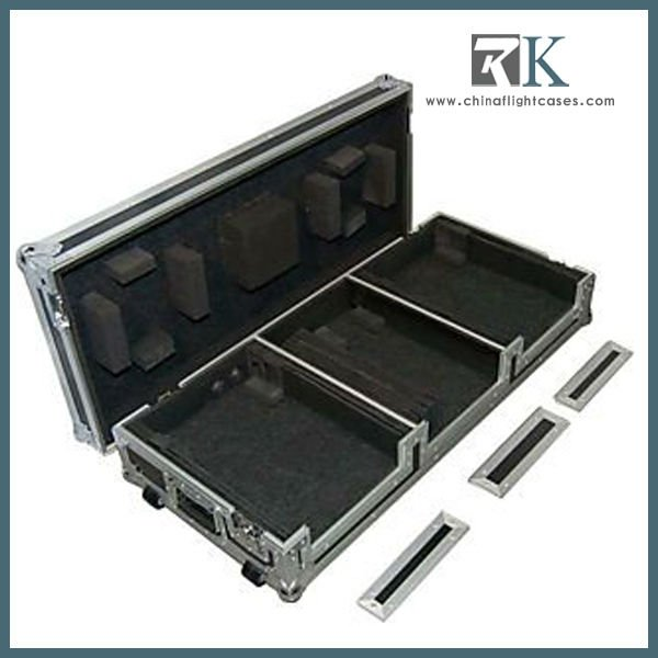RK Made in China CD/USB/SD/MP3 Audio DJ Mixer Multimedia Player With Flight Case