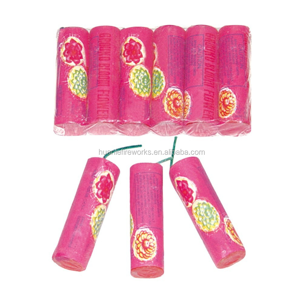 Liuyang Happy Fireworks Big boom ground spinners 0901 Ground bloom flower firecracker fireworks