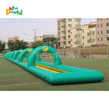 2019 new inflatable water slide city slide with pool for rental