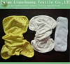 dyed bamboo PUL cloth diaper with booster and insert