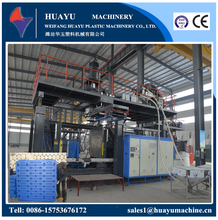 plastic pallet blow molding machine,1000L 2 layers blow moulding machine, plastic tray for forklift making machine