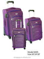 2016 Newest style 6005 Trolley luggage for travel