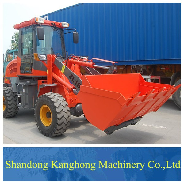 New ZL16 mini wheel loader used construction machinery for sale low price alibaba China