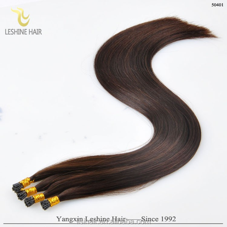 "Alibaba Hair Private Label Top Quality Italian Glue Remy 18"" i tip 1g"