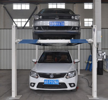 new CE high quality four post car lift car hoist , 4 post car parking lift