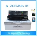 High-Tech Softwares ZGEMMA H5 FTA HDTV Satellite Receiver Dual Core Linux OS Enigma2 HEVC/H.265 DVB-S2+T2/C Twin Tuners