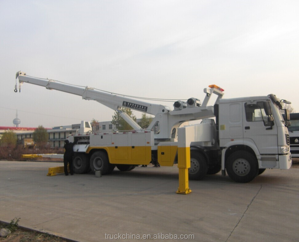 Rotator Wrecker 20-30 ton Heavy Duty Rotator Tow Truck Heavy Recovery Trucks China Tow Truck