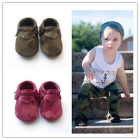 Fancy Europe Style High Quaility Hot Sale Soft Sole Leather Baby Shoes Children Camouflage Shoes