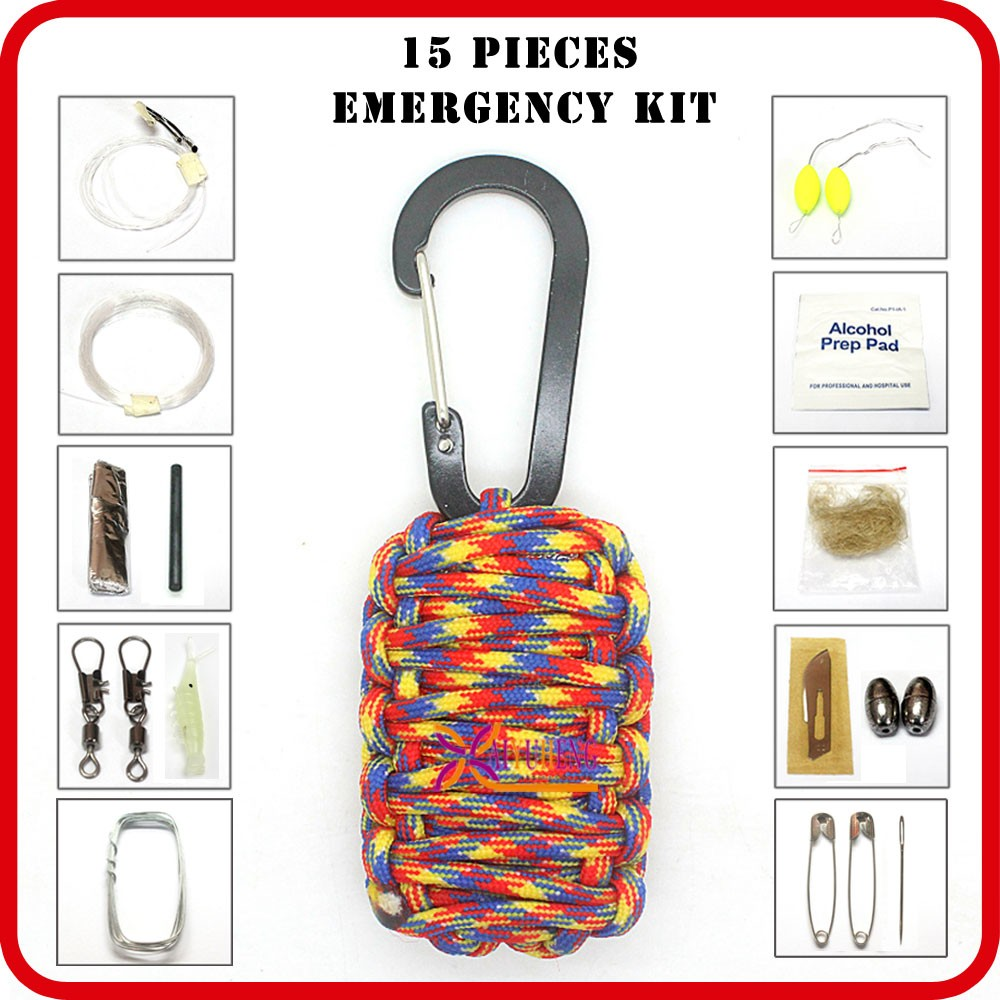 outdoor survival supplies emergency kit camping gear list