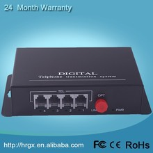 1 port ethernet 4 channel telephone interface voice optical fiber pcm Multiplexer for discount