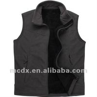 comfortable wholesale fleece vest coat for man