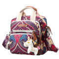 Wholesale Portable Crossbody strap Special ethnic bag hanging canvas shoulder bag