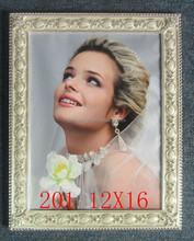 12x16'' Big Size rhinestone Pearl Wedding Metal Alloy Photo Picture Frame For New Couple's Gifts