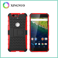 China Online Shopping Smartphone Accessories Combo Kickstand Case for Huawei Nexus 6P