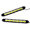 hot sale 12v waterproof led universal flex cob drl led daytime run light bentable silicone auto daylight led car