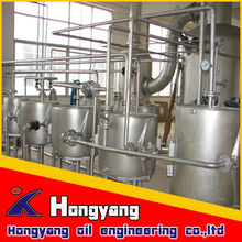 animal fatty oil refinery plant