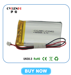 How to test lipo battery, 3.7V 300mah 204040 good lithium lipo battery