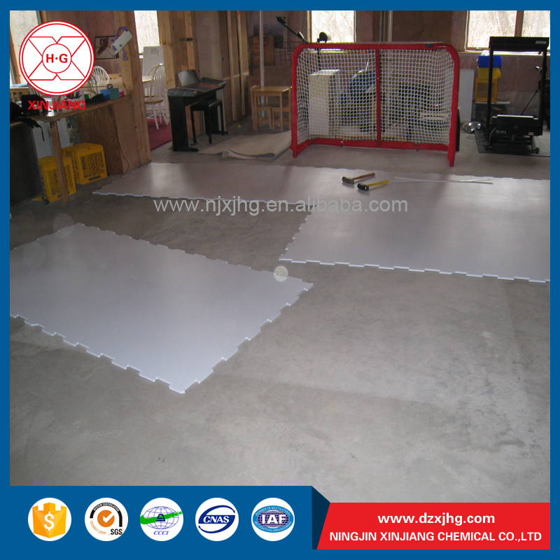 Plastic hockey rink boards for sale