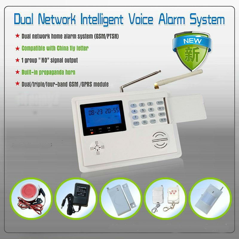 GSM 99 zone wireless alarm system for home security system(ZAB-580G)