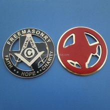 Masonic auto car sticker Masonic metal car emblem