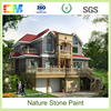 Environmental friendly liquid acrylic texture natural stone paint and coating