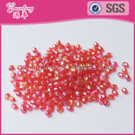 china bead manufacturers wholesale facted acrylic