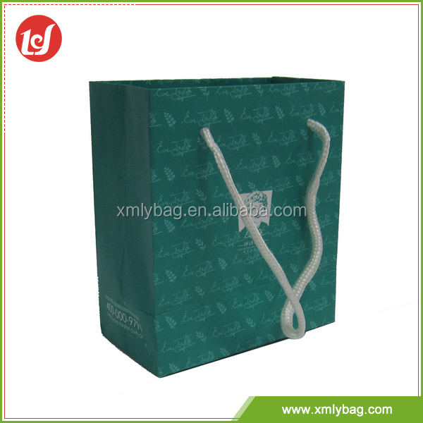 Factory price cheap customized shopping different types of paper bags