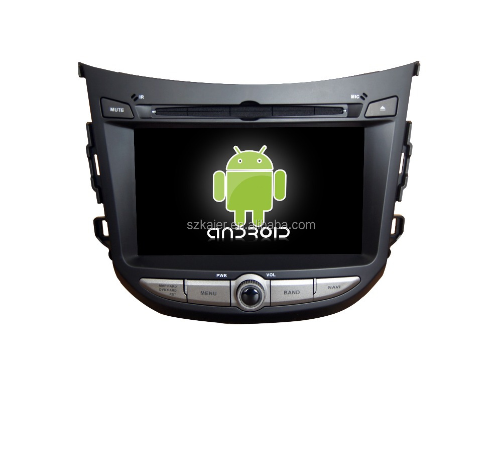 Quad core!car dvd with mirror link/DVR/TPMS/OBD2 for 7inch touch screen quad core 4.4 Android system HYUNDAI HB20