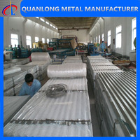 high rib corrugated roofing sheet