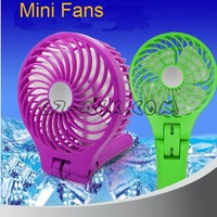 Mini Fan can folded and adjusted for any angle, 1.2A curent output with 4000mah Battery