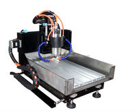 side rails mini CNC 3040 router 3 axis