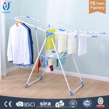 Practical multifunctional indoor cloth dryer rack