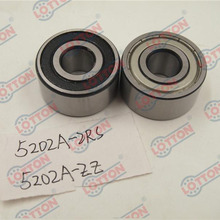 High quality chinese supplier LOTTON 5202 double row angular contact ball bearing
