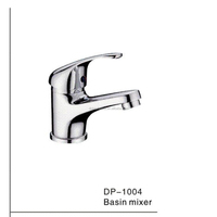 single lever brass basin mixer DP1004